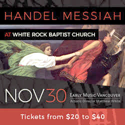 Messiah - Nov 30 - White Rock Baptist